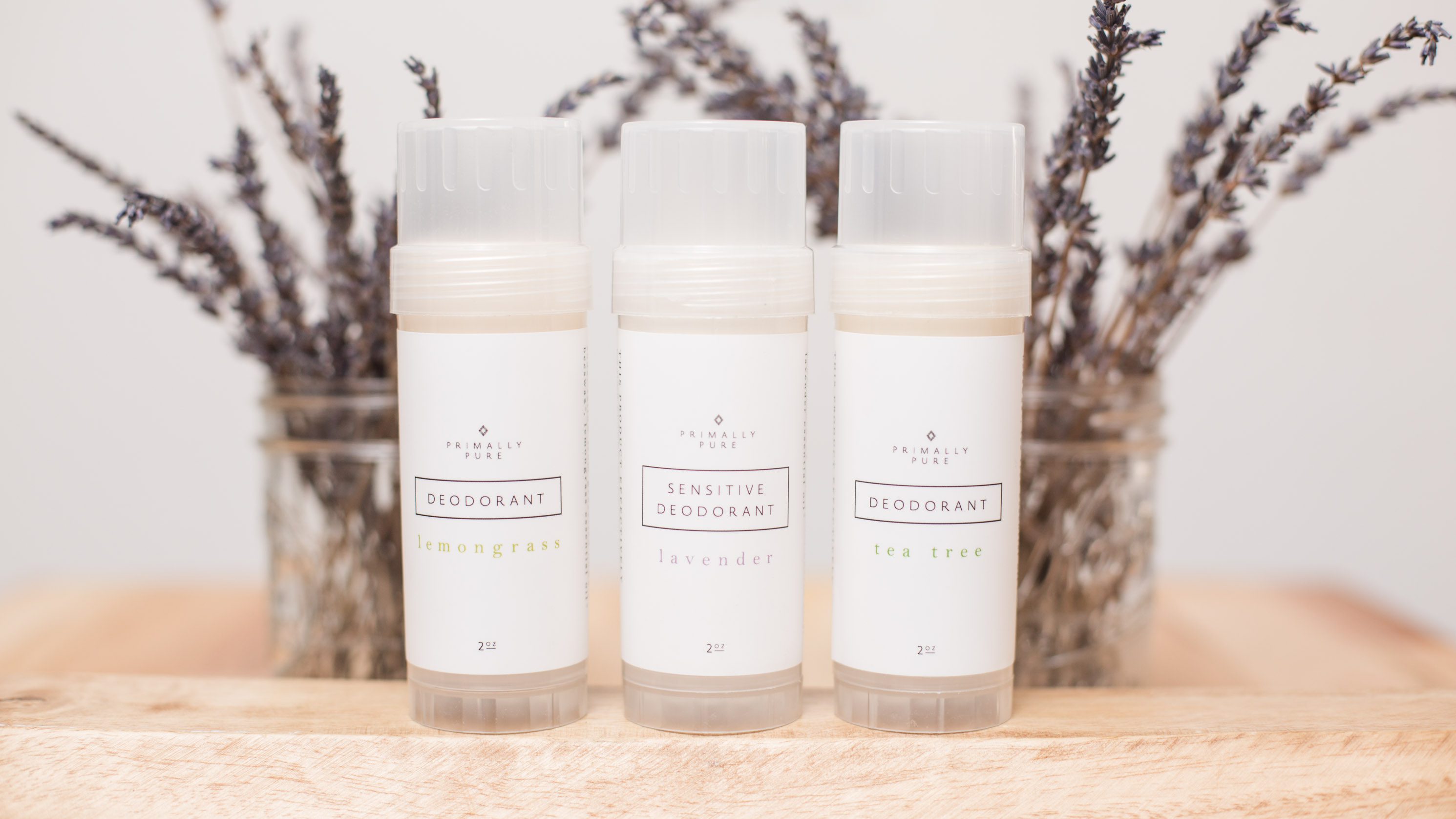 Primally Pure Natural Deodorant