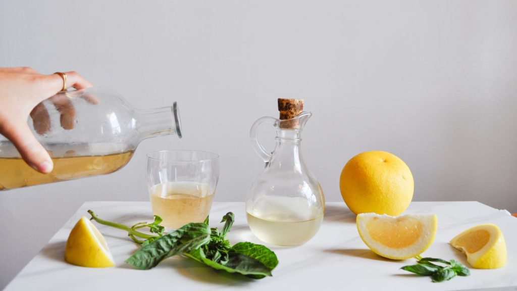 Grapefruit + Basil Soda